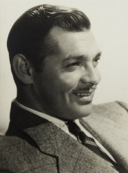 CLARK GABLE PHOTOGRAPH SIGNED TO HAROLD LLOYD