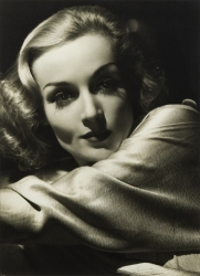 CAROLE LOMBARD PHOTOGRAPH SIGNED TO HAROLD LLOYD