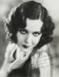 MARY BRIAN PHOTOGRAPH SIGNED TO HAROLD LLOYD