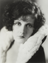 EVELYN BRENT PHOTOGRAPH SIGNED TO HAROLD LLOYD