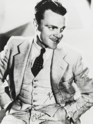 JAMES CAGNEY PHOTOGRAPH SIGNED TO HAROLD LLOYD