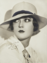 MARION DAVIES PHOTOGRAPH SIGNED TO HAROLD LLOYD