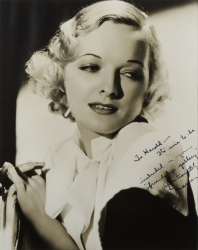 MARIAN NIXON PHOTOGRAPH SIGNED TO HAROLD LLOYD