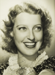 JEANETTE MacDONALD PHOTOGRAPH SIGNED TO HAROLD LLOYD