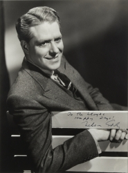 NELSON EDDY PHOTOGRAPH SIGNED TO HAROLD LLOYD