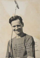 BILL BRANCH PHOTOGRAPH SIGNED TO HAROLD LLOYD