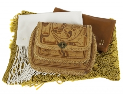 JANE FONDA PURSES AND SHAWL