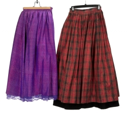 JANE FONDA SILK SKIRTS