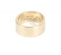 JOANNE AND JOHNNY CARSON WEDDING RING