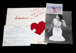 JOANNE AND JOHNNY CARSON PERSONAL RELATIONSHIP DOCUMENTS