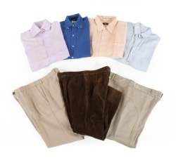 TRUMAN CAPOTE SHIRTS AND TROUSERS
