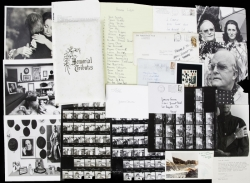 TRUMAN CAPOTE FUNERAL BOOK AND LETTERS