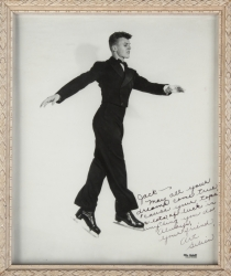 TAB HUNTER SIGNED AND INSCRIBED PHOTOGRAPHS