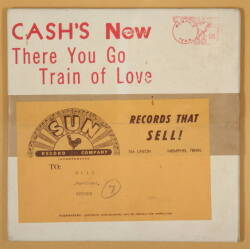 SUN RECORDS UNOPENED JOHNNY CASH SINGLE MAILER