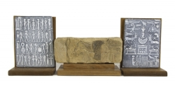 CHARLTON HESTON EGYPTIAN THEMED ITEMS