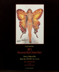 PLAYBOY MANSION PARTY POSTER