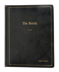 KEANU REEVES THE MATRIX CUSTOM BOUND SCRIPT