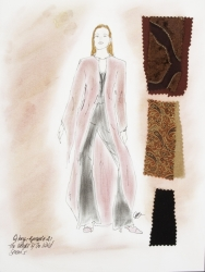 BUFFY THE VAMPIRE SLAYER SERIES COSTUME SKETCHES