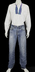 STEVE JOBS BLUE JEANS OUTFIT