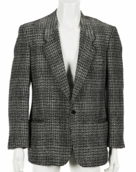STEVE JOBS ARMANI SPORTS COAT AND SCARF