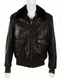 STEVE JOBS WORN LEATHER JACKET