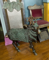 ZAPPA INDIAN COPPER SACRED COW STATUE