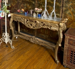 ZAPPA CARVED BAROQUE CONSOLE TABLE
