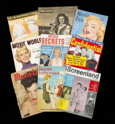 MARILYN MONROE OWNED MAGAZINES