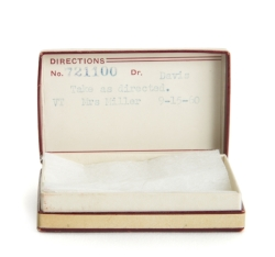 MARILYN MONROE PRESCRIPTION BOX