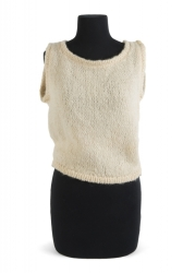 MARILYN MONROE IVORY KNIT TOP