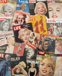 MARILYN MONROE COLLECTION OF VINTAGE MAGAZINES