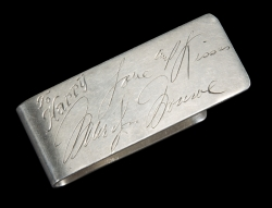 MARILYN MONROE GIFTED MONEY CLIP
