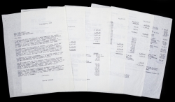 MARILYN MONROE COMPLETE 1962 FINANCIAL STATEMENTS