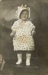 MARILYN MONROE BABY PICTURE