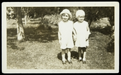 MARILYN MONROE CHILDHOOD PHOTOGRAPH