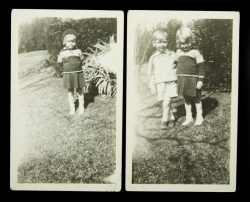 MARILYN MONROE CHILDHOOD PHOTOGRAPHS