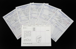 MARILYN MONROE ARTHUR MILLER SAKS FIFTH AVENUE RECEIPTS