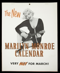 MARILYN MONROE SOME LIKE IT HOT CALENDAR