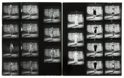 MARILYN MONROE CONTACT SHEETS FROM THE MISFITS