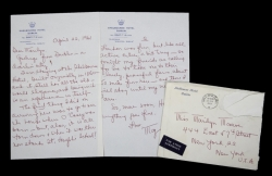 MARILYN MONROE LETTER FROM MAY REIS