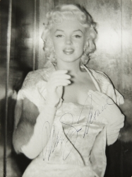 MARILYN MONROE SIGNED PHOTOGRAPH