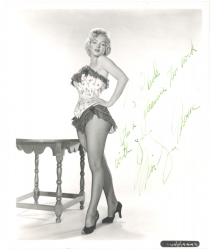 MARILYN MONROE SIGNED AND INSCRIBED PORTRAIT