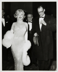 MARILYN MONROE AND ARTHUR MILLER VINTAGE PHOTOGRAPH