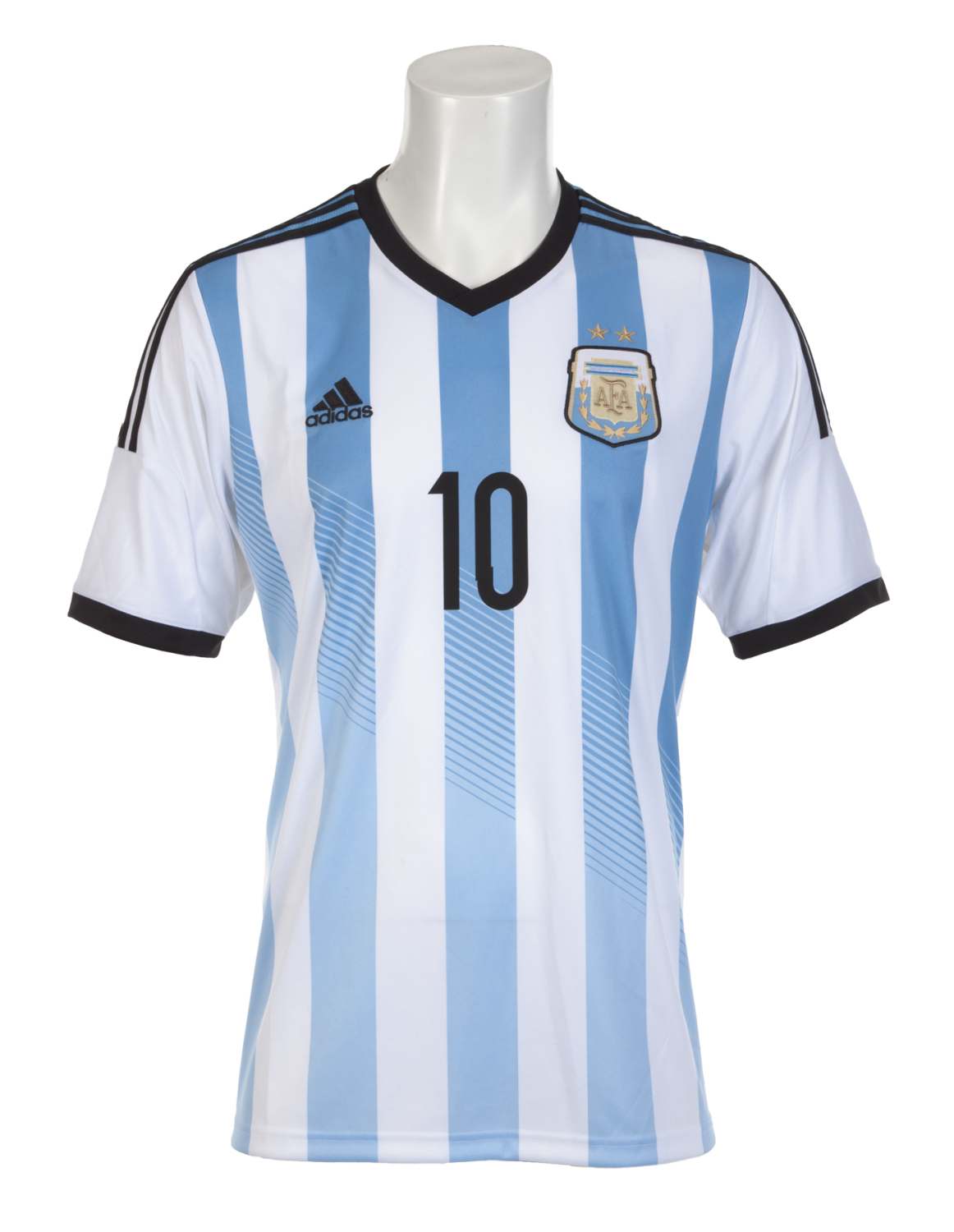 factory authentic bcdbc fb8bc LIONEL MESSI ARGENTINA NATIONAL FOOTBALL TEAM GAME WORN ...