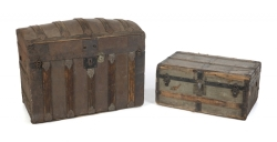 PATRICK SWAYZE STEAMER TRUNKS