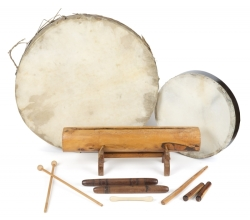 PATRICK SWAYZE PERCUSSION INSTRUMENTS