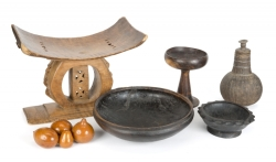 PATRICK SWAYZE AFRICAN HOUSEHOLD ITEMS