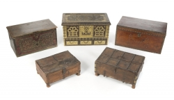 PATRICK SWAYZE WOOD CHESTS