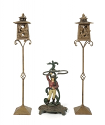 PATRICK SWAYZE CAST IRON LANTERNS