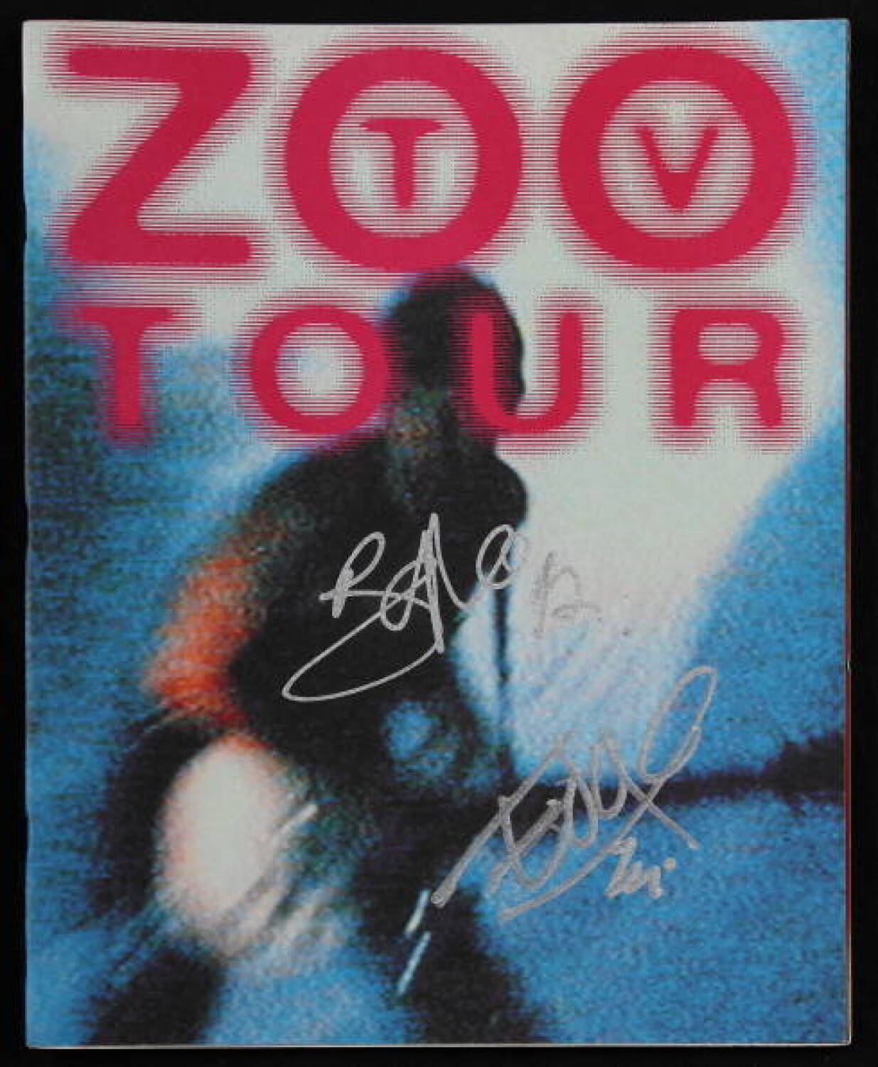 BONO AND THE EDGE SIGNED ZOO TV TOUR PROGRAM - Current price: $200